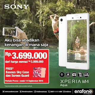 Promo Sony Xperia M4 Aqua