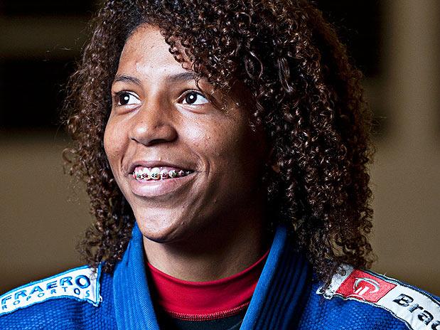 Rafaela Silva, judoca da categoria Leve que vai a Londres