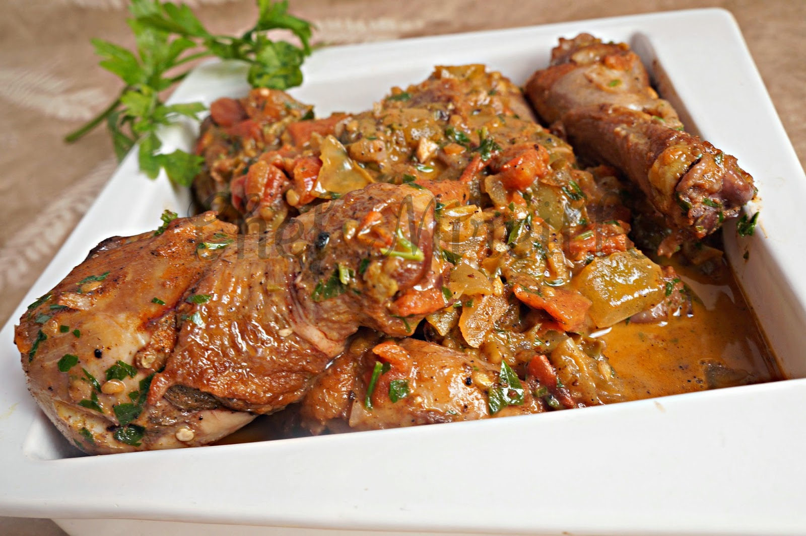 Stewed Chicken, Spain Recipes, Basque Recipes