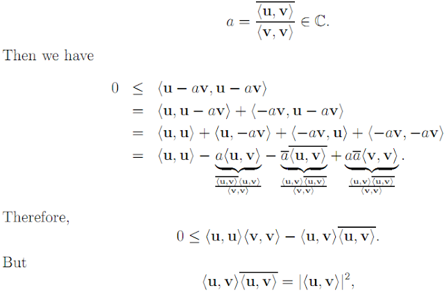 Linear Algebra: #17 Scalar Products, Norms, etc. equation pic 3