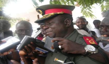 Bissau: Chefe das FA apresenta alegadas provas de tentativa de golpe de Estado