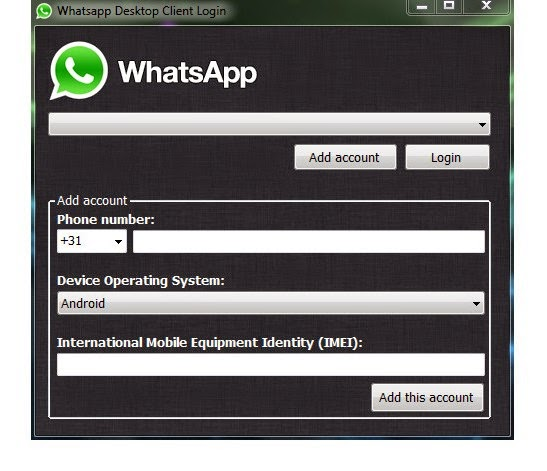 how to open whatsapp on pc