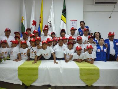 La Cruz Roja Amazonas  Dirección de Juventudes