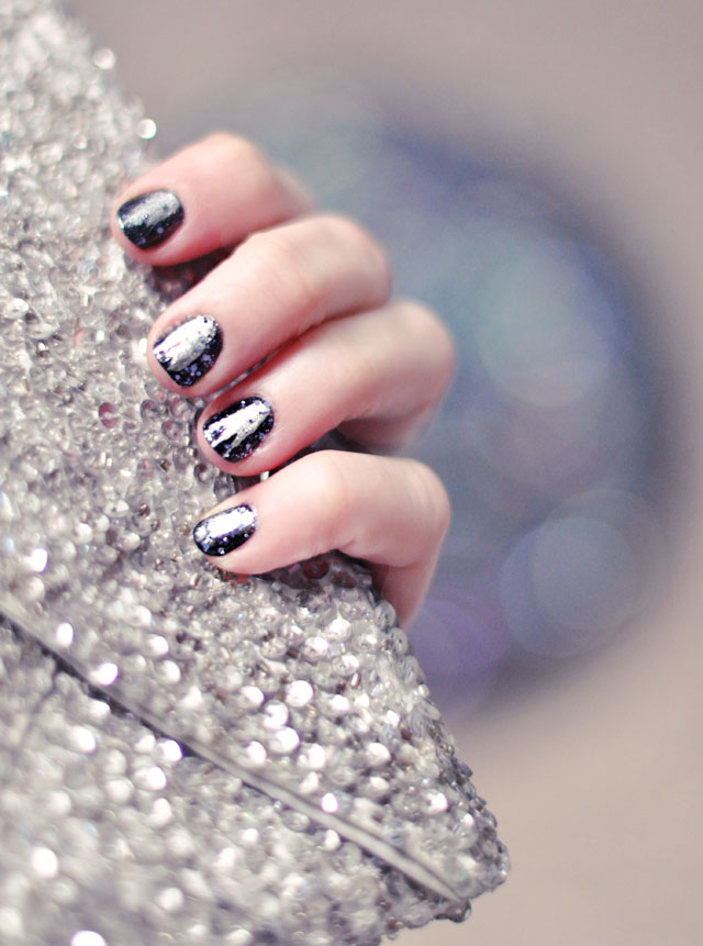 NYE Nails, New Year's Manicure