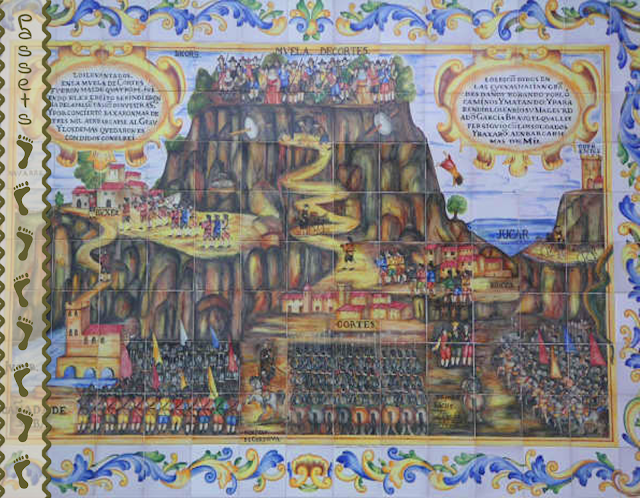 La Cortada - Azulejos en Cortes de Pallàs