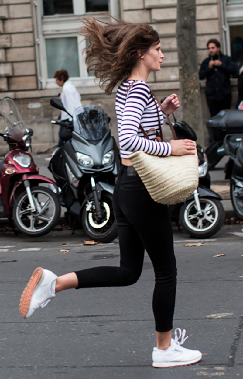 Streetstyle at Paris: Sneakers-StanSmith-Adidas
