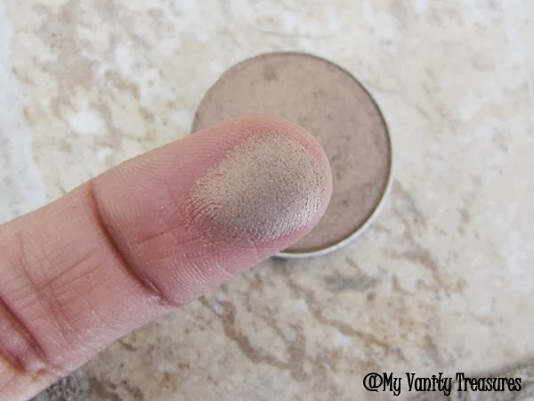 MAC Patina eyeshadow swatch