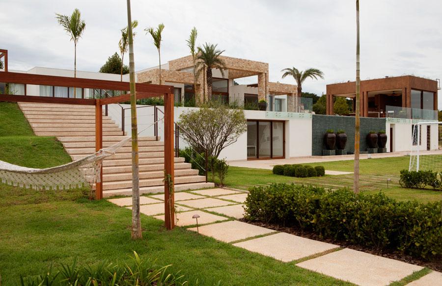 Projeto de arquitetura for Casas contemporaneas rusticas