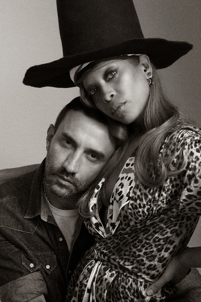 Erykah Badu & Riccardo Tisci for Paper Magazine October 2014
