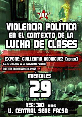 SANTIAGO: VIOLENCIA POLITICA EN EL CONTEXTO DE LA LUCHA DE CLASES