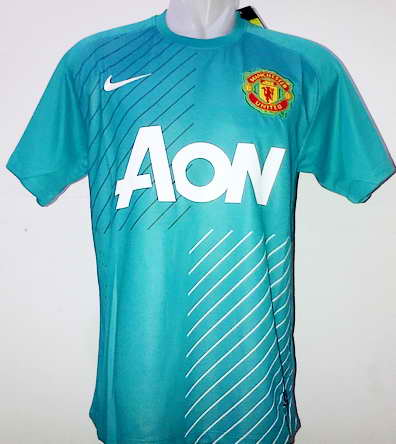 Manchester United Jersey GK Green