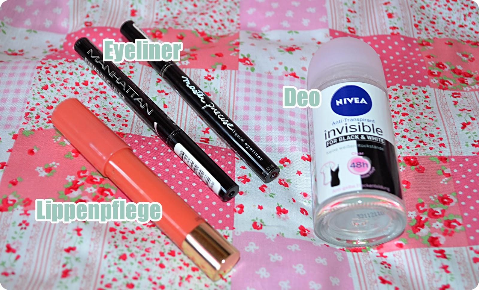Aufgebraucht im November & Dezember  2013 - Kosmetikprodukte
