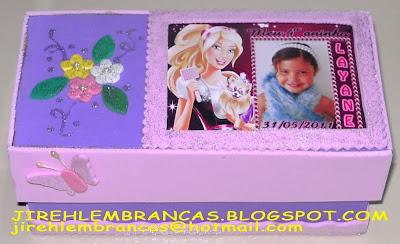 Jireh Lembran As Arte Em E V A Lembrancinha Da Barbie
