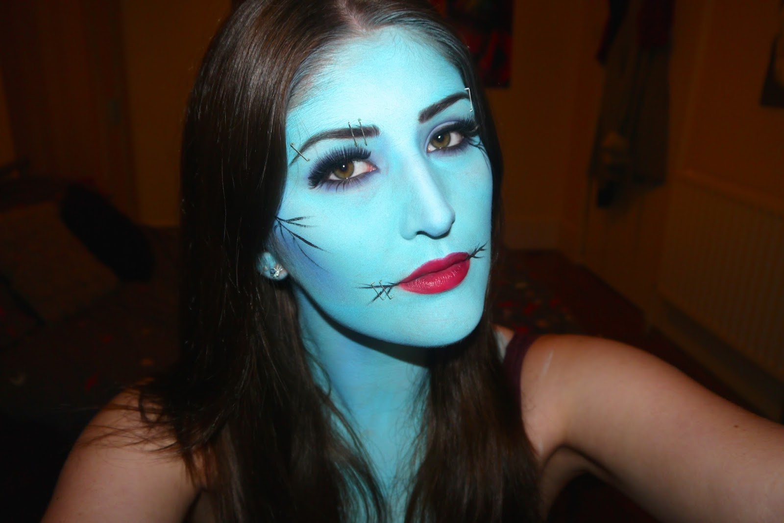 Alexandra elizabeth corpse bridesally inspired halloween tutorial halloween isnt far off now and not often do you get have this much fun with makeup i created this tutorial for you on youtube which was inspired by corpse baditri Choice Image