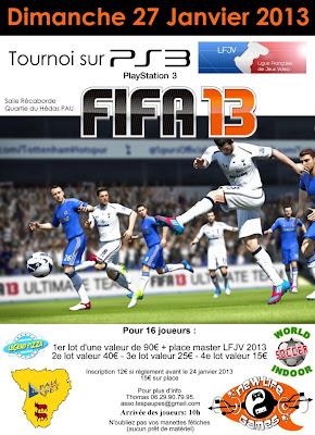 tournoi FIFA 13 à pau sur ps3