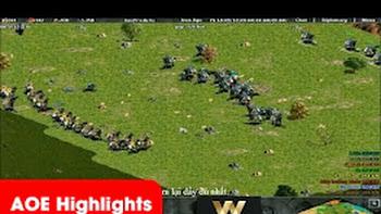 AOE Highlights – Một trận thi đấu rất là hay của team GameTV trước team Hà Nội