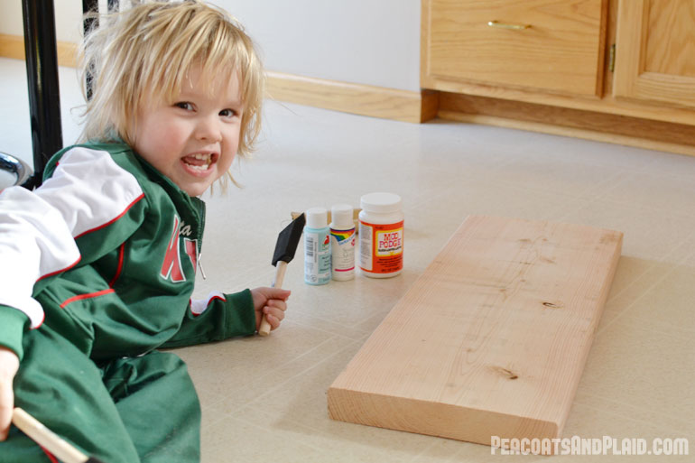 how to keep single child busy