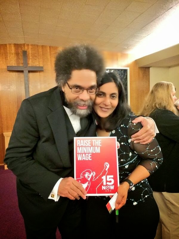 Cornel with Sawant