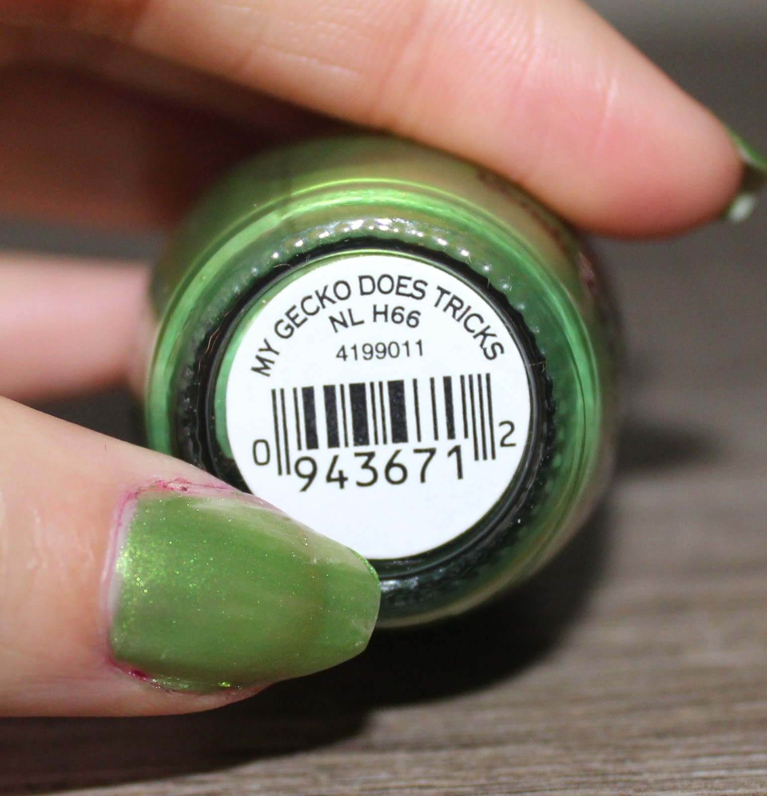 OPI My Gecko Does Tricks Swatch