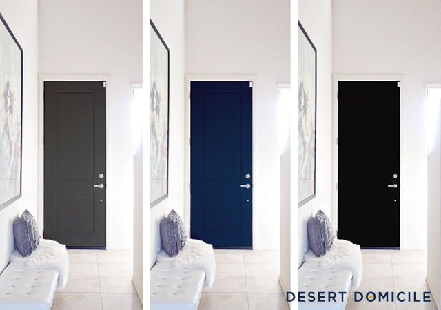 Interior door color choices desert domicile Best white paint for interior doors