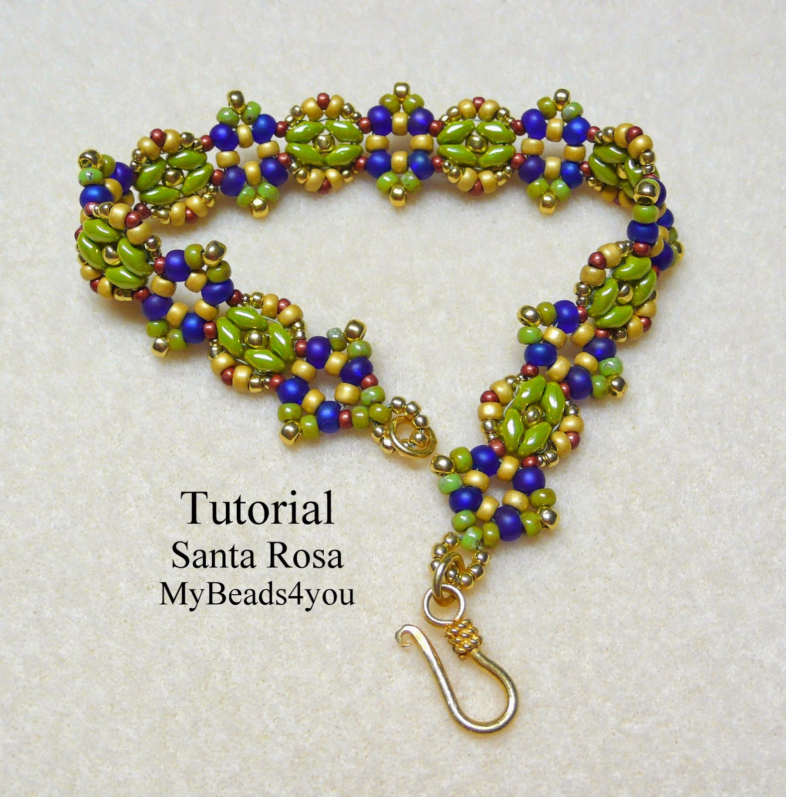 Santa Rosa Tutorial By My Beads 4 You