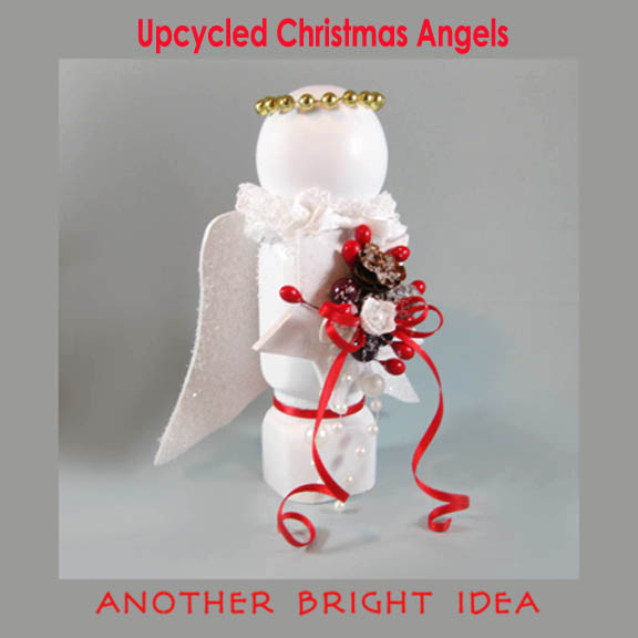 like most artistscrafters i save things im going to do something with that some day which is why i still had some spindles from book shelves i used - Christmas Angels For Sale