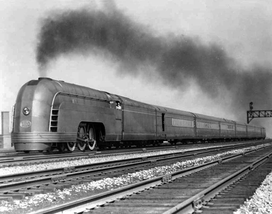 Let's keep it wild.: The Henry Dreyfuss affair Henry Dreyfuss Train