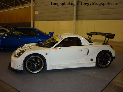 Toyota MRS Super GT wide body kit