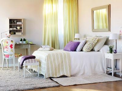 diseño de dormitorio acogedor