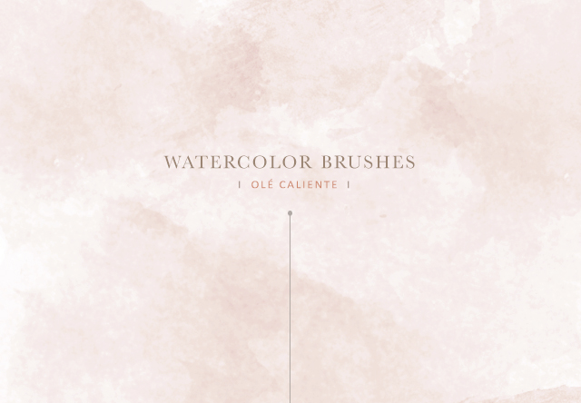 [PHOTOSHOP] Watercolor brushes