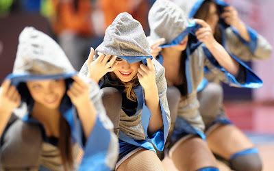 NBA Cute Cheerleader Girls 2013 USA Hd Desktop Wallpaper