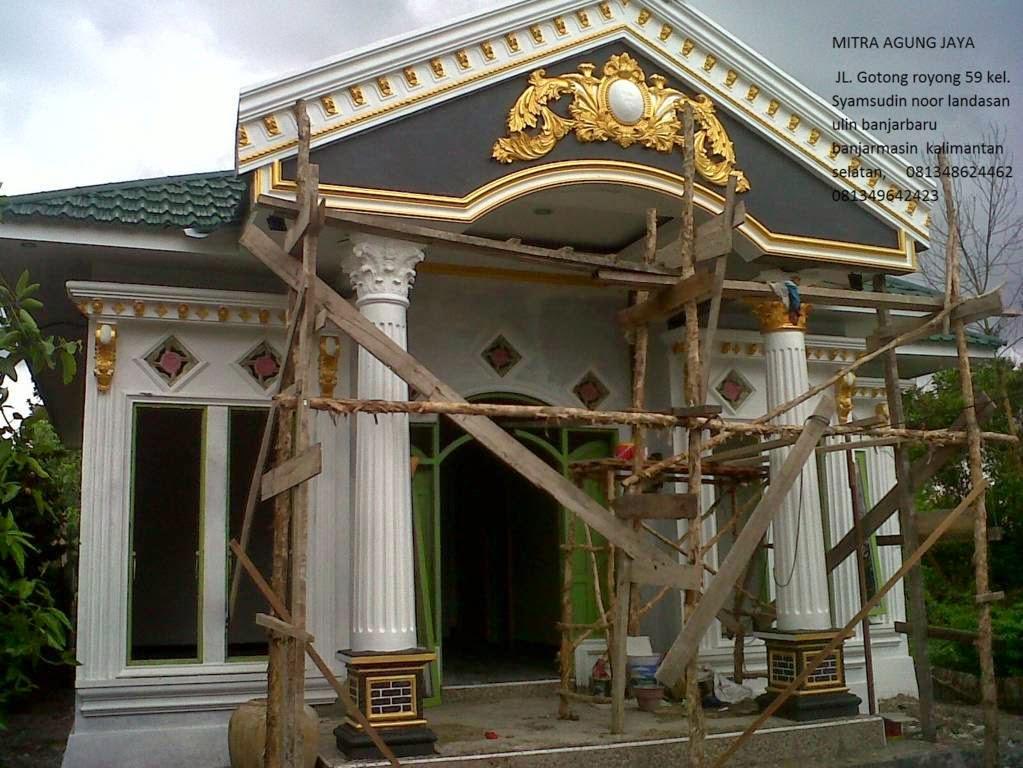 Profil Semen Ornamen Rumah Klasik Rumah Minimalis Mitra Agung Jaya