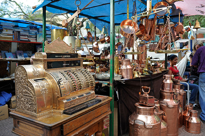 Antiques in San Telmo Market