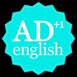 englishAD+1