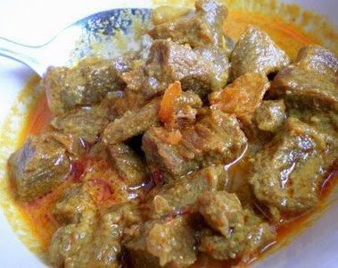 Gulai Daging Kambing