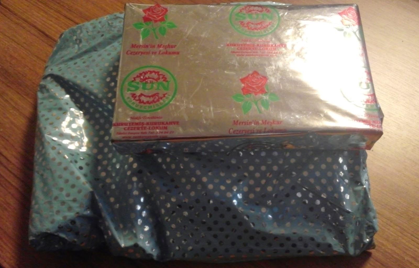 Hediye paketlerim