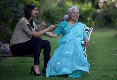 Sonam Kapoor in conversation with Waheeda Rehman cute photo gallery