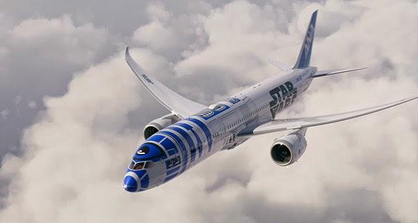 imagen Avión R2-D2 ANA