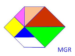 Tangram chino y polígonos convexos | Juegos y Taller de Matemáticas