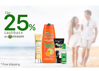 Get Extra 25% Cashback on GARNIER Products : BuyToEarn
