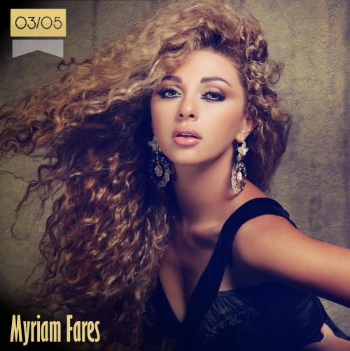 3 de mayo | Myriam Fares - @myriamfares | Info + vídeos
