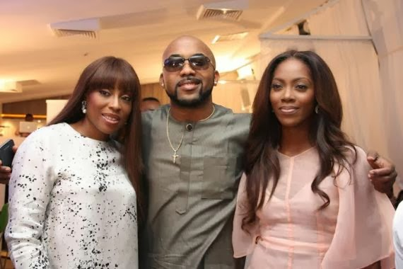 Photos from the Banky & Tiwa Show launch last night