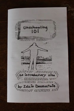 Get the new Unschooling 101 Zine!