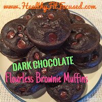 Tips to stay on track this Labor Day! Dark Chocolate Flourless Brownies, www.HealthyFitFocused.com Julie Little