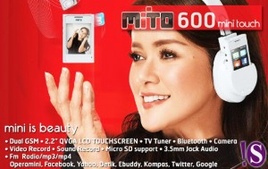 Spesifikasi Mito 600 Mini Touch Keluaran Terbaru