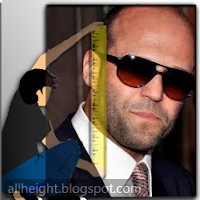 What is the height of Jason Statham?