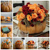 DIY Pumpkin Vase Thanksgiving Centerpiece