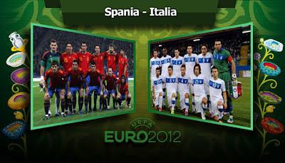 SPANIA ITALIA EURO 2012 10 iunie live online TVR1 pe internet Campioantul european de fotbal