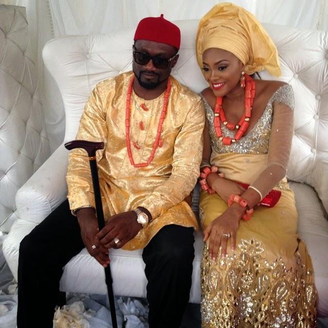 jude okoye wedding picture