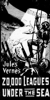 Cartel de la película 20.000 leguas de viaje submarino, 1916